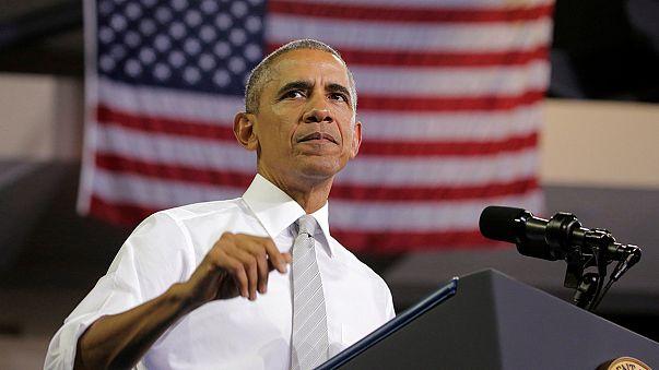 EUA: Obama em campanha e os gastos de Trump