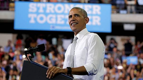 أوباما يلقي بكامل ثقله لضمان فوز هيلاري كلينتون في الرئاسيات الأمريكية