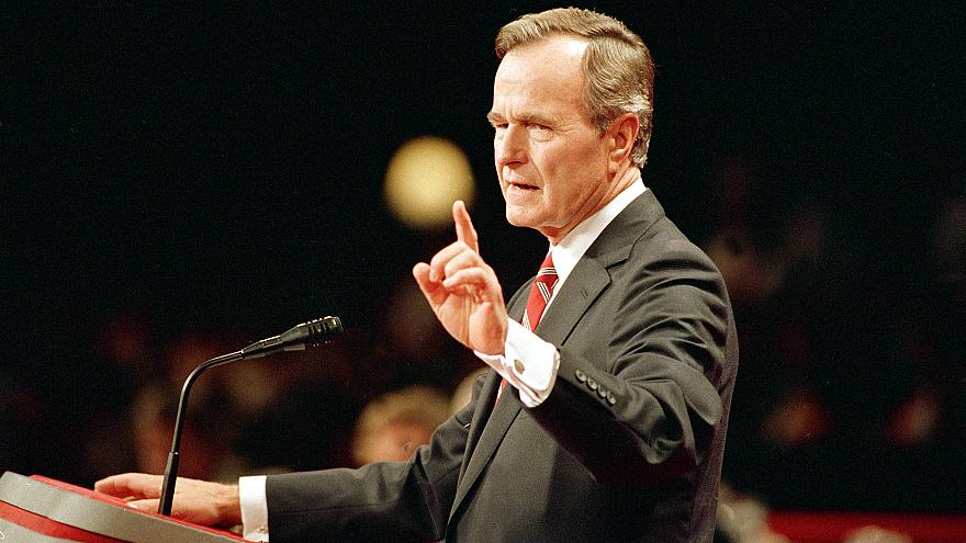 The six words that changed the presidency of George H.W. Bush