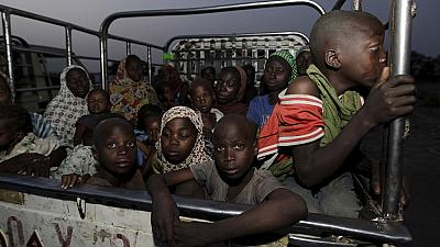 UNICEF frees 876 children held by Nigerian army after Boko Haram fightback