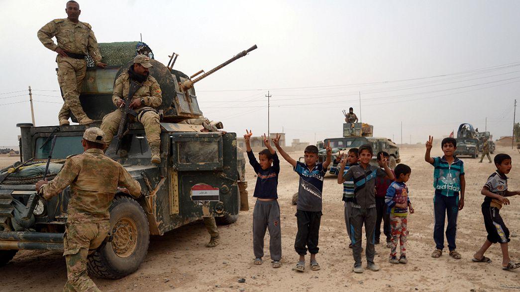 Bataille de Mossoul: les djihadistes en déroute sur le front sud