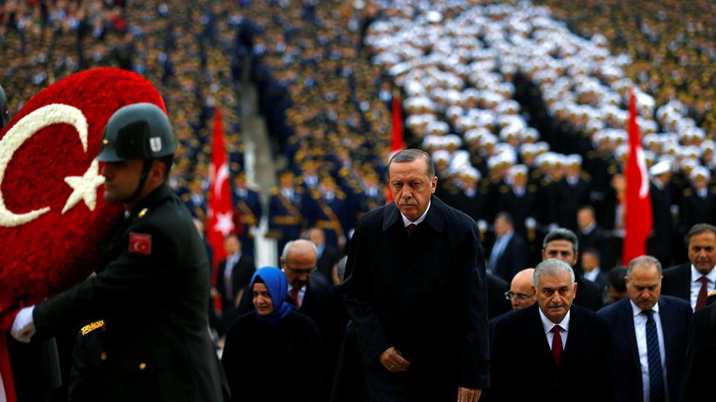 Turquie : Erdogan martial lors des célébrations de la fête nationale
