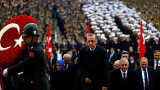 حمله مجدد اردوغان به کودتاگران در مراسم روز جمهوری