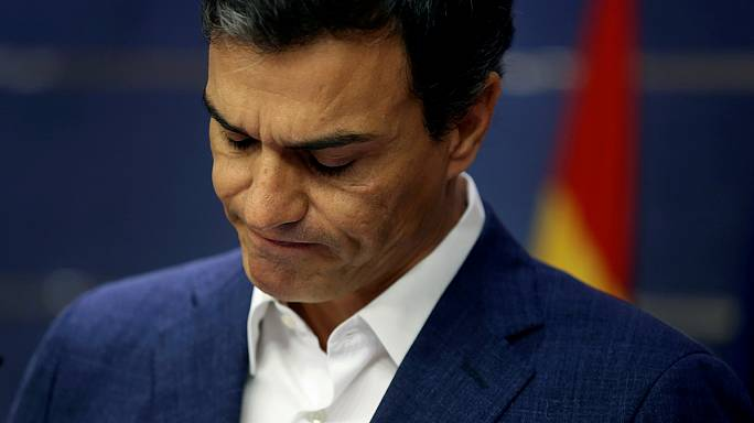 Spain's former Socialist leader steps down as MP in protest over Rajoy premiership vote