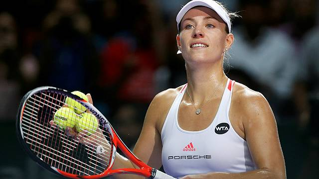World number one Kerber to meet Cibulkova in final of season-ending tournament