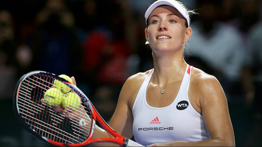 World number one Kerber to meet Cibulkova in final of season-ending tournament