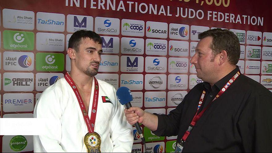 Abu Dhabi celebra su primer oro en un Grand Slam
