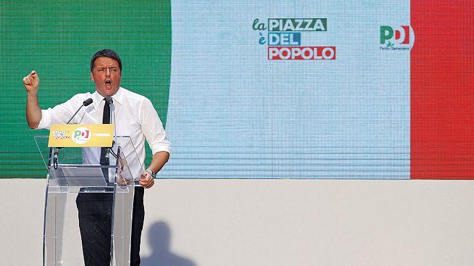 Renzi pide el voto favorable en el referéndum sobre la reforma constitucional