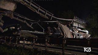Ιταλία: Ανατριχιαστικό βίντεο- ντοκουμέντο από την κατάρρευση γέφυρας