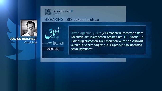 Messerangriff in Hamburg: Bekennerschreiben der IS-Miliz aufgetaucht