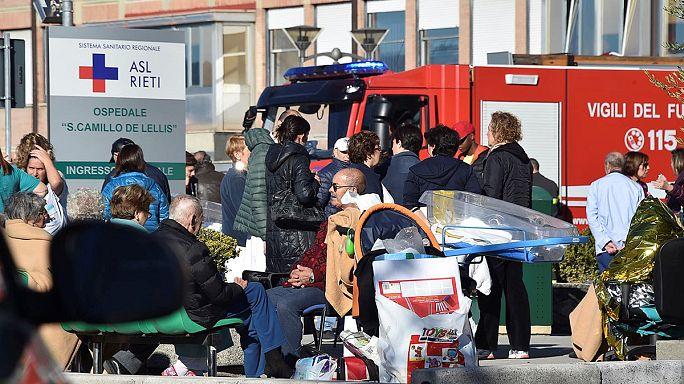 В центральной Италии — новое мощное землетрясение