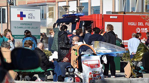 Nouvelle forte secousse sismique dans le centre de l'Italie