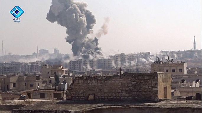Tercer día de intensa ofensiva de yihadistas y rebeldes en Alepo