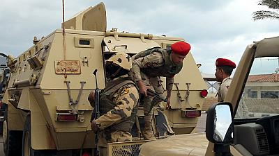 Four Egyptian soldiers killed in the Sinai