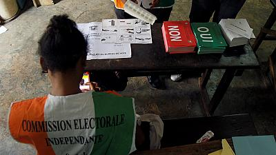 Vote counting underway in Ivorian referendum