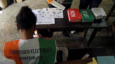 Vote counting underway in Ivorian referendum