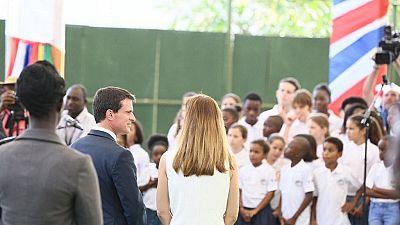 French Prime Minister in Ghana