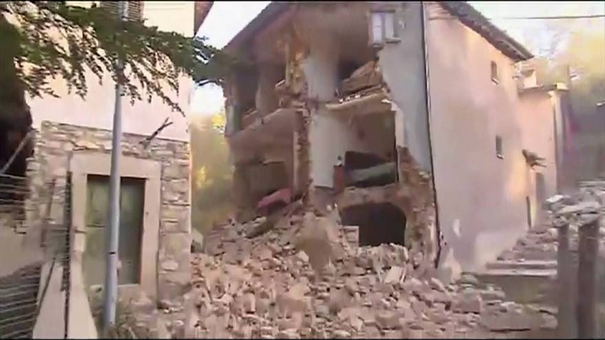 Norcia after new earthquake strikes Italy