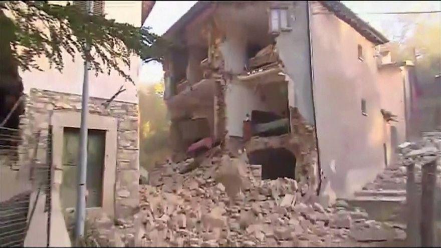 Норча: эпицентр нового землетрясения