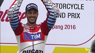 MotoGP: Θρίαμβος του Ντοβιτσιόζο στη Μαλαισία