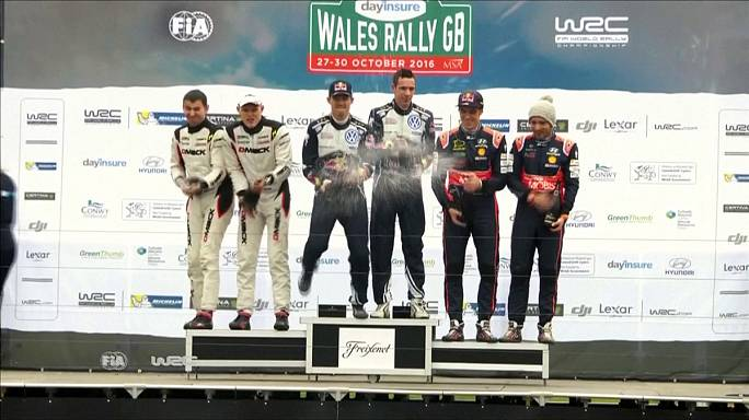 Ogier wins Wales Rally GB for fourth straight season as VW claim manufacturer's title