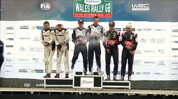 Ogier győzelemmel ünnepelt, és világbajnoki címhez segítette a Volkswagent is
