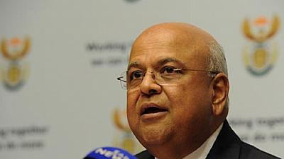 South Africa's prosecuting authority head denies dropping charges against finance minister