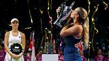 Dominika Cibulkova gagne le Masters