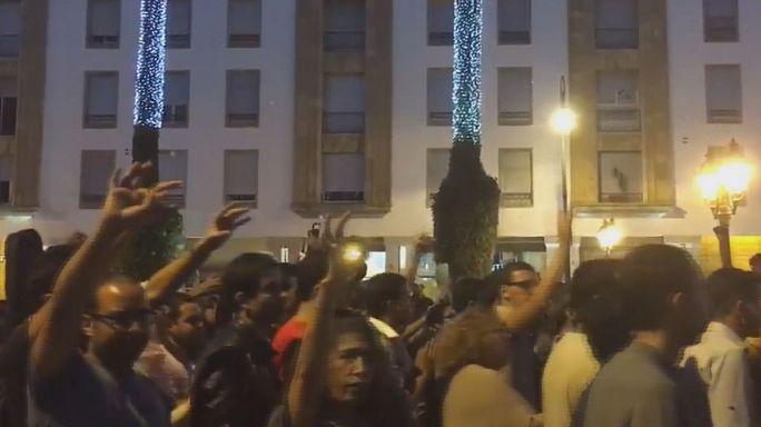 Manifestations au Maroc après la mort tragique d'un marchand de poissons