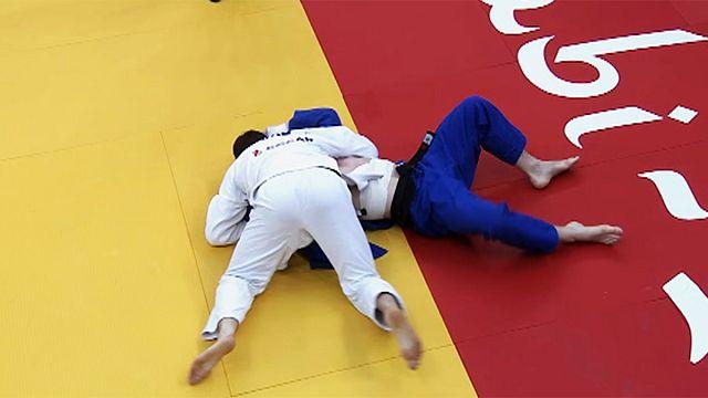 Judo : l'argent pour Axel Clerget