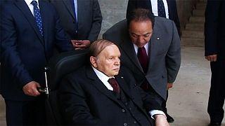 Bouteflika inspecciona las obras de la gran mezquita de Argel