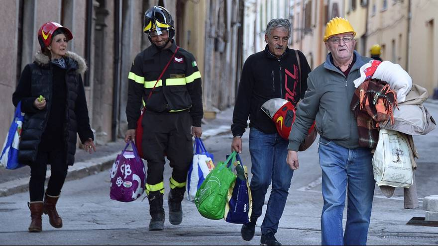 At least 25,000 people are displaced after Italian earthquakes