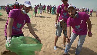 Os jovens marroquinos que lutam pelo futuro do ambiente