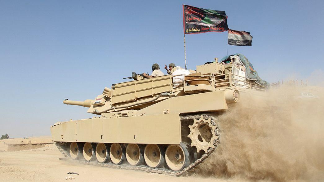 Les forces irakiennes et kurdes progressent autour de Mossoul