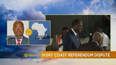 Côte d'Ivoire : Référendum perturbé [The Morning Call]
