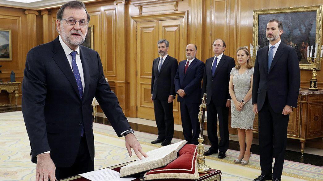 Espagne : un deuxième mandat difficile attend Mariano Rajoy