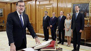 إسبانيا: راخوي يؤدي اليمين الدستورية لرئاسة حكومة جديدة