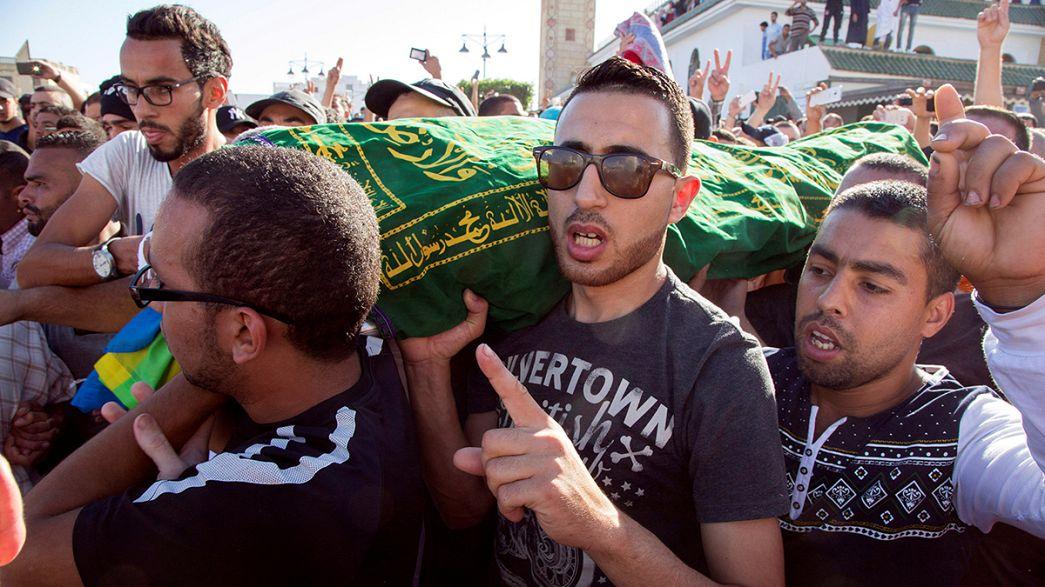 Les Marocains en colère après la mort suspecte d'un pêcheur