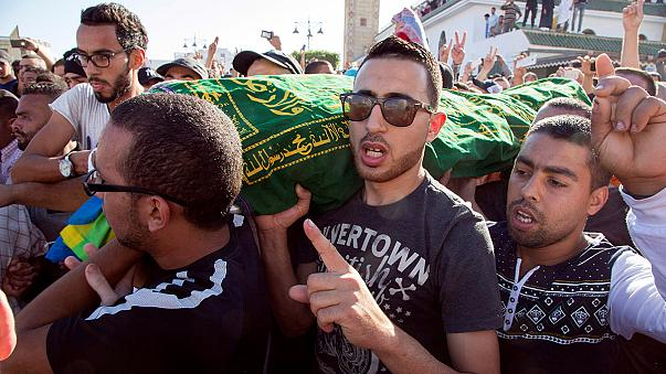 Nueva jornada de protestas en Marruecos por la muerte de un pescadero en Alhucemas