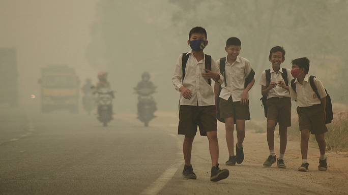 Pollution : 300 millions d'enfants respirent de l'air toxique - Unicef
