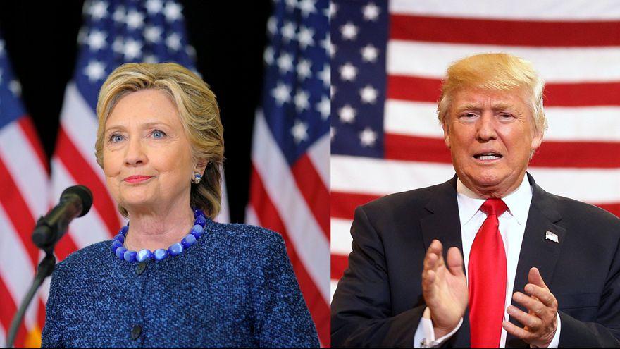 Eine Woche vor der US-Wahl: Hillary Clintons Vorsprung schwindet
