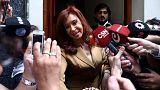 Cristina Fernández de Kirchner comparece ante la justicia
