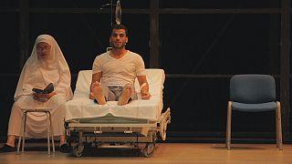 Teatro para resistir al conflicto sirio