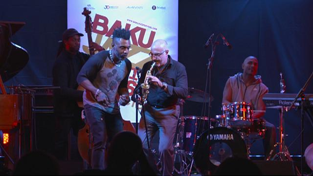 Baku beats to the rhythm of world jazz