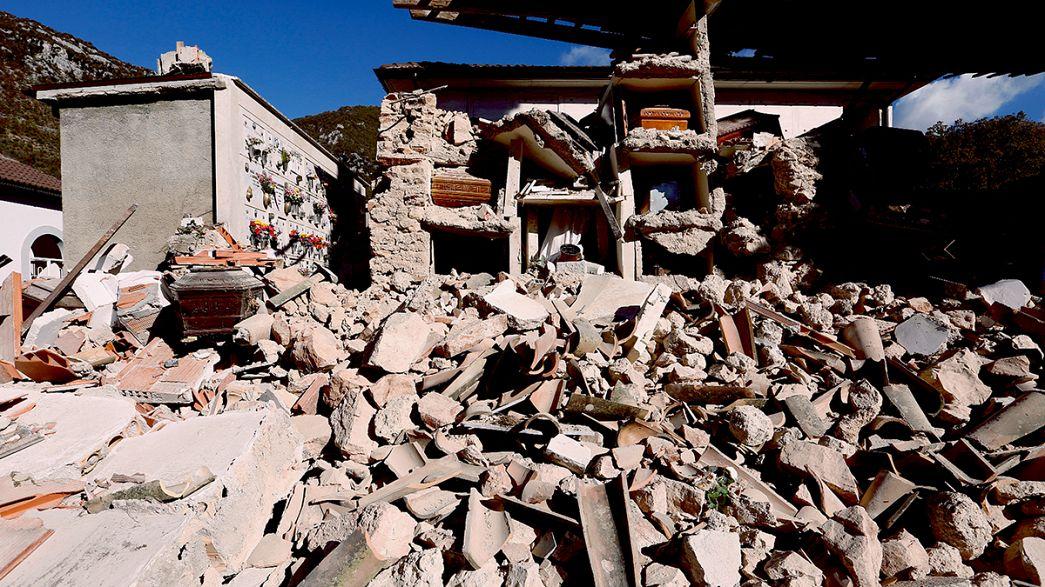 Encore un séisme ce matin en Italie - l'agriculture de plus en plus touchée