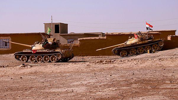 Иракский спецназ у ворот Мосула