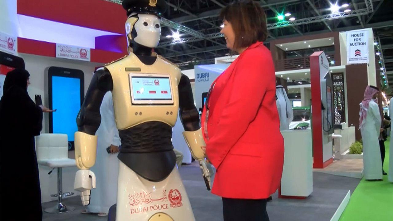 Robô polícia em breve nas ruas do Dubai