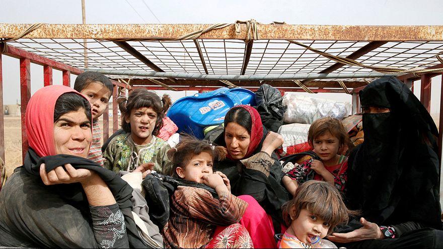 Irak/Mossoul : l'exode continue pour des milliers de civils