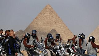 "Le challenge ""Egypt Motorcycle Rally"""