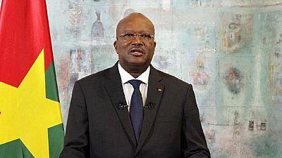 Burkina : le président exhorte l'armée à ''se conformer aux règles de l'Etat de droit''